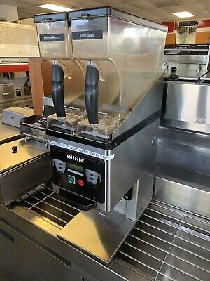 Bunn Mhg Commercial Dual Hopper Coffee Grinder Digital Smartbrew
