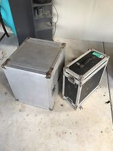 """Flight cases for 18"""" rack equipment for sale cheap. Brighton Brisbane North East Preview"""