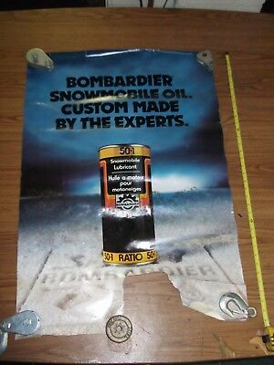 Vintage - Bombardier Snowmobile - Trainers4Me