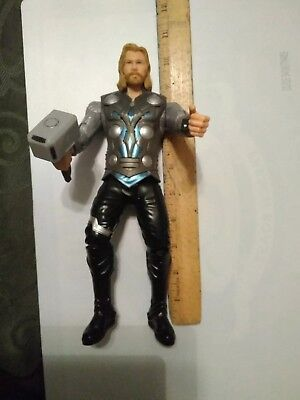 "2011 10"" Hasbro action figure Marvel Thor action figure"