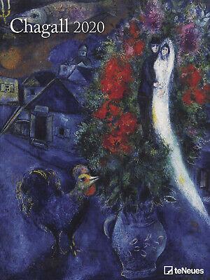 Chagall Wandkalender 64 x 48 cm 2020 ( NICHT 2021 !!!)  Kunstkalender
