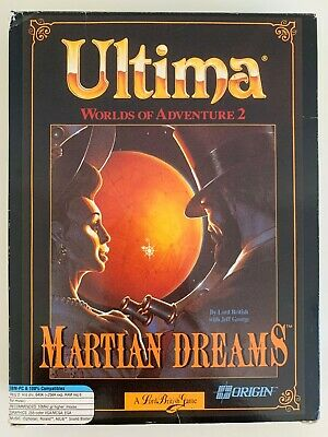 Ultima - Martian Dreams - Worlds of Adventure 2 - PC Budget Edition *RARE*