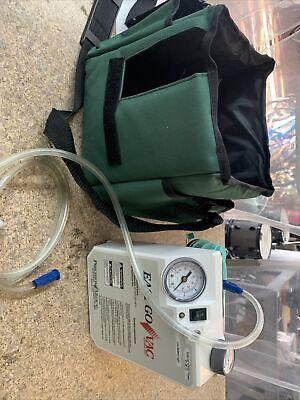 Precision Medical Pm65hg Easy Go Vac Portable Vacuum Pump No Charger