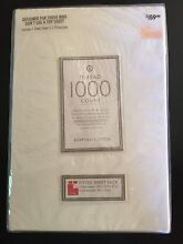 Brand new white fitted King sheet pack Brassall Ipswich City Preview