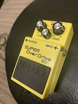 Boss SD-1 Super Overdrive Guitar Effect Pedal