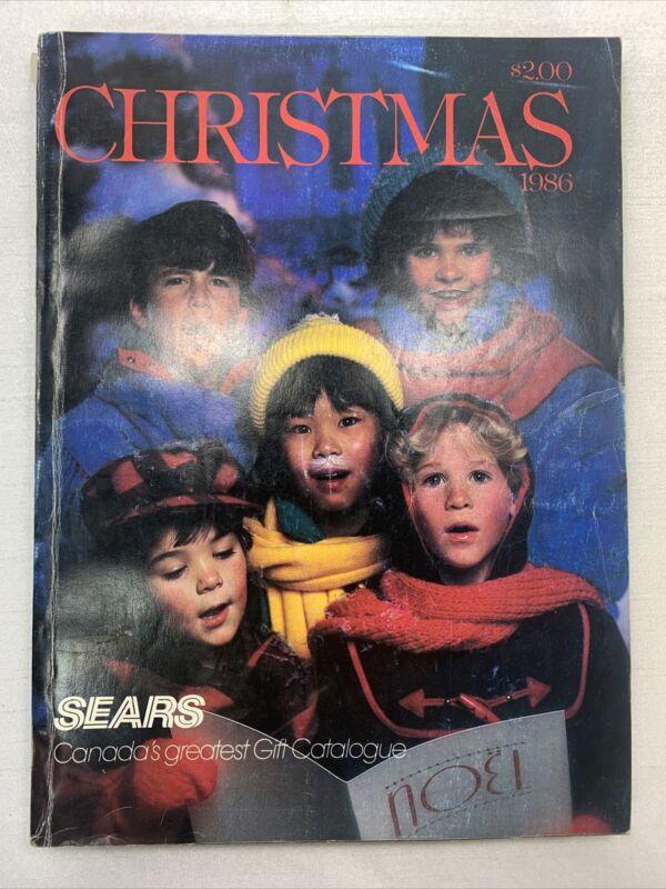 Sears Wishbook Cataloge 1986 Winter Toys Christmas Department Store WWF LJN