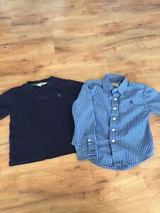 Toddler Penguin long Sleeve and Button Up - Size 3