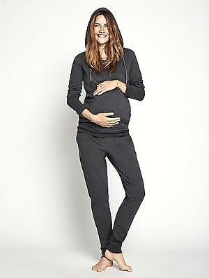 Hooded Maternity Pregnancy Hoodie Tracksuit/Yoga Mamalicious CLICK FOR 40% OFF !