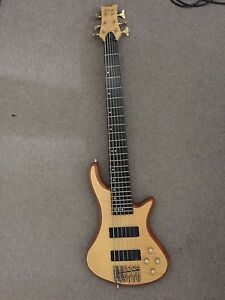Schecter Bass Guitar Merrimac Gold Coast City Preview
