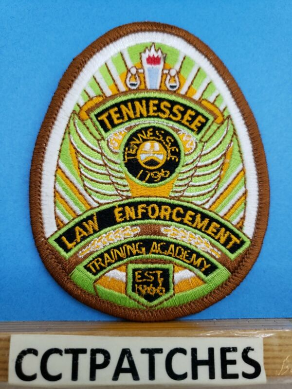 TENNESSEE LAW ENFORCEMENT TRAINING ACADEMY POLICE SHOULDER PATCH TN