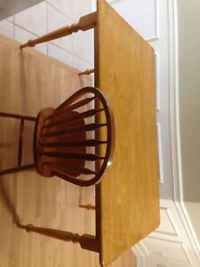 Kitchen table and 4 chairs. $75