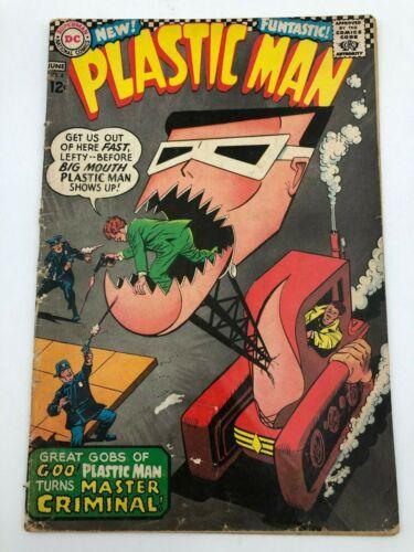 Plastic Man #4 (1967) DC Comic Book