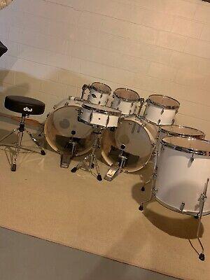 pearl export drum set used