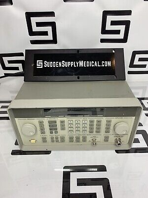 Hp Agilent Keysight 8648a 100 Khz To 1ghz Signal Generator 1000 Hewlett Packard