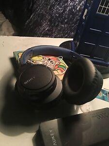 Bluetooth Sony headphones