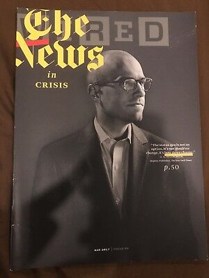 Wired Magazine March 2017 The News In Crisis Sulzberger New York Times