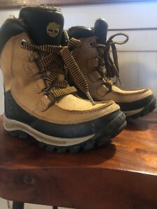 Winter Timberland boots