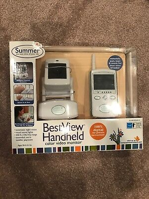 """Summer Infant Best View Handheld Color Video Monitor with 2.5"""" Screen"""