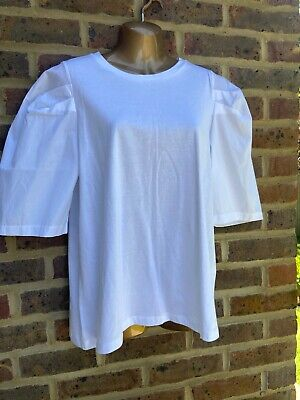Brand New Zara White T Shirt - M