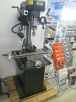 New Jet Jmd-15 Bench Type R8 Milling Machine Wfree Stand