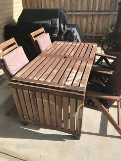 IKEA Outdoor Dining Set And 4 Chairs