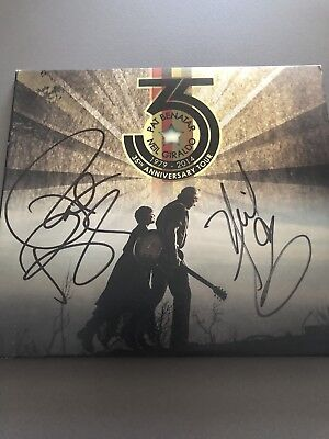 Pat Benatar Neil Giraldo 35 Anniversary Live Signed Autographed DVD