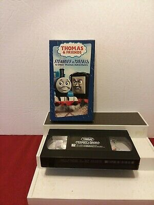 Thomas the Tank Engine - Steamies vs. Diesels Other Thomas Adventures (VHS, 20…