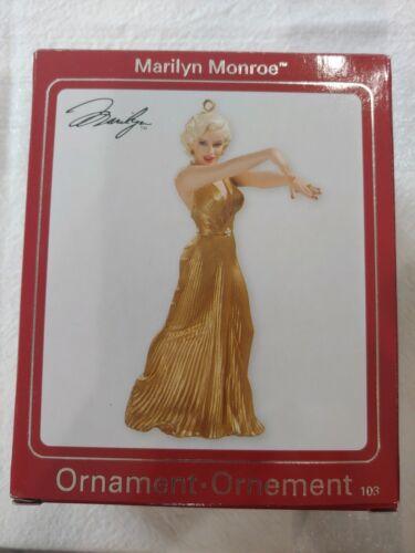 2008 Carlton Heirloom Collection Marilyn Monroe Xmas Ornament #103