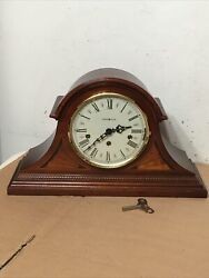 Howard Miller Downing Model Triple Chime Inlaid Mantle Clock Westminster ++