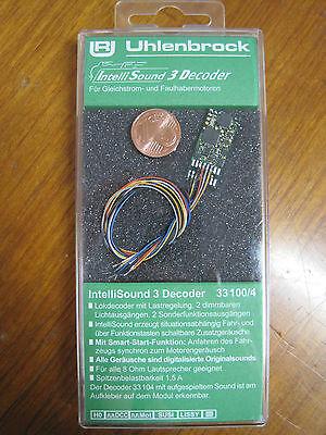 Uhlenbrock 33100 Spur H0,TT,N Mini Sounddecoder MOT/DCC + Kabel + Wunschsound online kaufen
