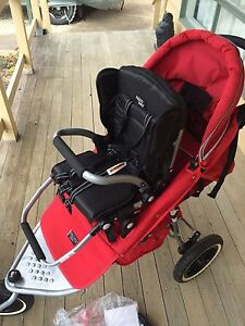 Valco Matrix Double pram with 2 toddler seats and belly bar Bannockburn Golden Plains Preview