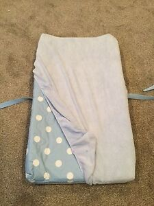 Baby change table pad with cover