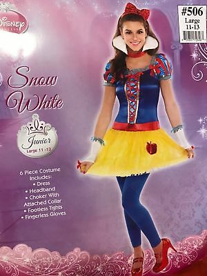 Snow White Junior Size Costume Disney Halloween Princess - Disney Halloween Outfits