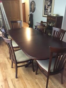 Formal Dining Table with China Cabinet