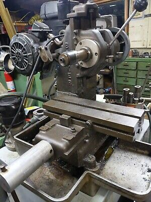 Barker Horizontal Milling Machine 110v Slotting Keyways Wcoolant Pump Tray
