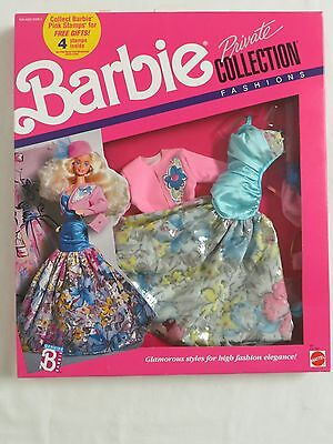 Barbie Private Collection #4957 1989 1980s style NIB doll clothes fashion Mattel