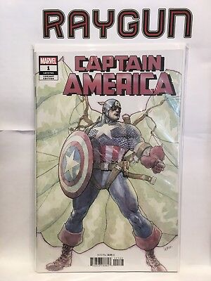 Captain America #1 LGY #705 Yu Variant NM- 1st Print Marvel Comics for sale  Shipping to Ireland