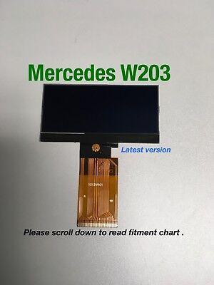 01-04 Mercedes C class,W203  Speedometer cluster LCD display screen C320 ETC,& G