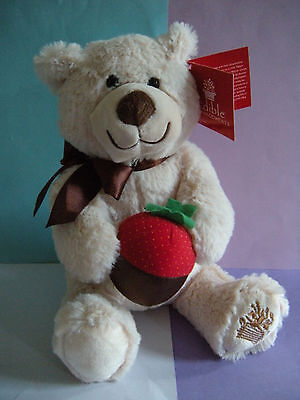 Edible Arrangements Berry Loved Bear With Strawberry 11  Plush