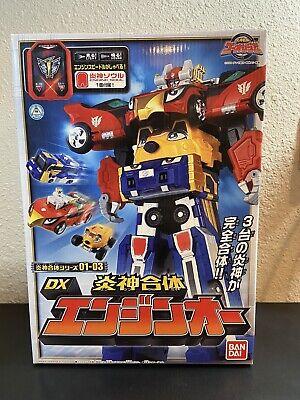 Power Rangers Rpm Toys (Power Rangers RPM Go-Onger HIGH OCTANE Megazord Enginoh Bandai JAPAN)