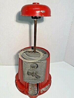 ANTIQUE GUMBALL MACHINE Vintage Candy Dispenser, Working.