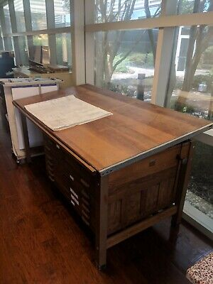 Hamilton J23-4-46 Drafting Table 7 X 3 X 45
