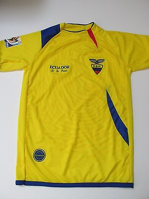 South Africa 2010 FIFA World Cup Ecuador Si Se Puede Soccer Jersey Men's M AC29 image