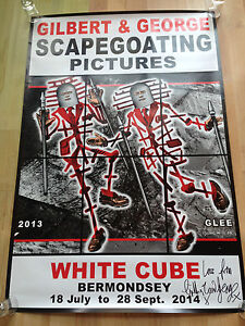 Gilbert and George Signed Limited Editions Poster