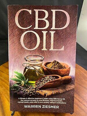 CBD Oil - Warren Ziesmer