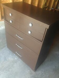 Solid Wood DRESSER, 4 large drawers, good shape, only $35