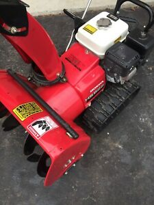 Honda snowblower HS622 light and electric start