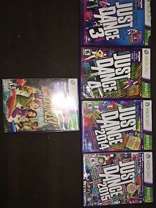 JEUX KINECT XBOX JUST DANCE/ADVENTURES