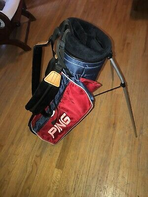 Ping Red White Blue Vintage Golf Bag