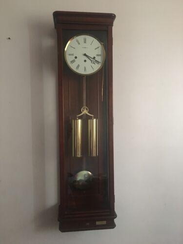 Howard Miller Milan Wall Clock Model 613-212 Cable Driven.